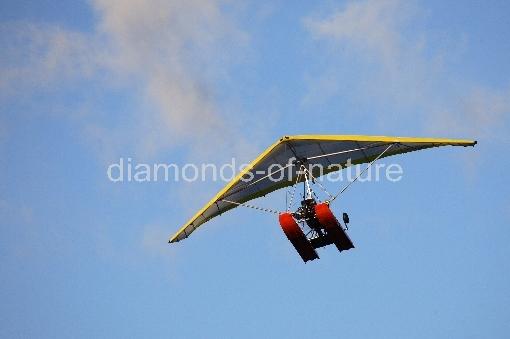Ultralight Powered Hang Glider